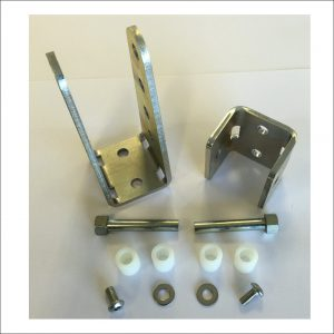 BRACKETKITV3  Bracket kit for Easy and Easy Plus gate closers
