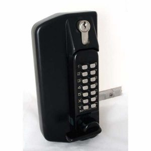 Borg Digital Gate Lock With Overide