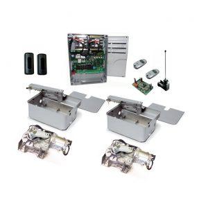 CAME Frog AE-P 24 Kit with Stainless Steel Foundation Boxes