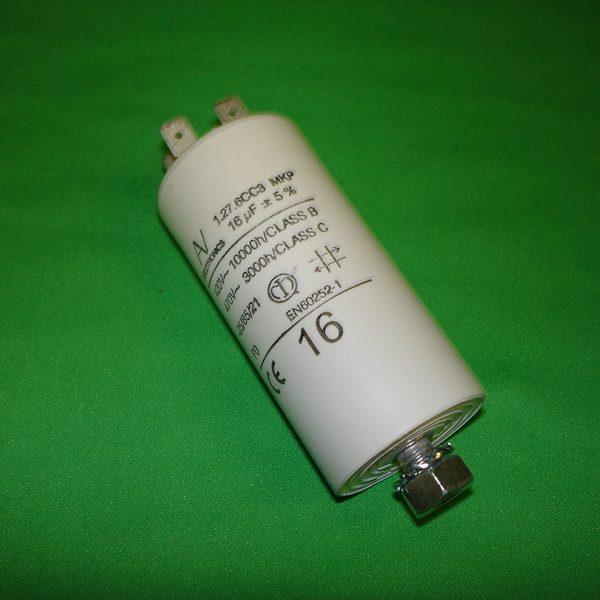 CAME 16uF Gate Motor Capacitor 119RIR275