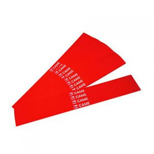 CAME G02809 20 Pack of Red Barrier Arm Stickers