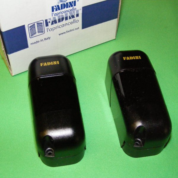 Fadini Orbita 57 Photocells Can Be Either Hard Wired Or Wireless