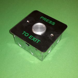 Flush Mount Waterproof Push Button Exit Switch