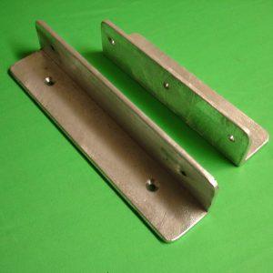 Galvanised Steel Mag-Lock Gate Brackets