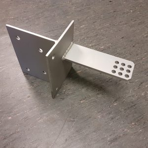 Heavy Duty Bolt On Post Bracket For AXO3024 - Made To Order