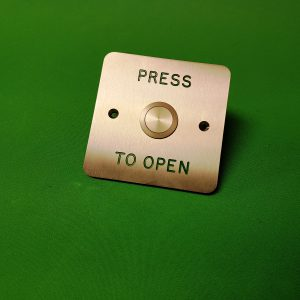 Push Button to Open Switch Flush Mount Marine Grade