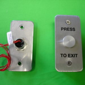 Narrow Style Waterproof Push Button Exit Switch