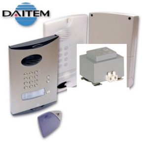 DAITEM Wireless Intercom with Keypad With Power Supply No Handset
