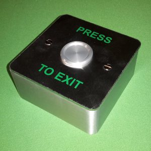 Surface Mounted Waterproof Push Button Exit Switch