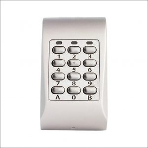 Videx Key Pad MTPADS Silver Surface Mount