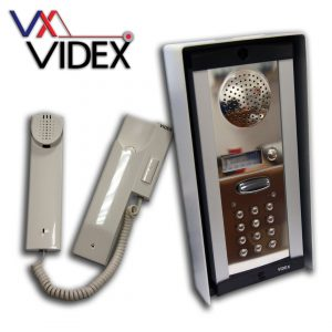 Videx Hard Wired Audio Intercoms