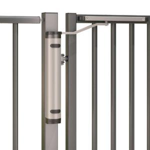 Locinox Verticlose-2-Zilv Gate Closer