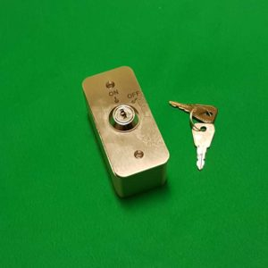 Surface Mount Narrow Style Latching Key Switch