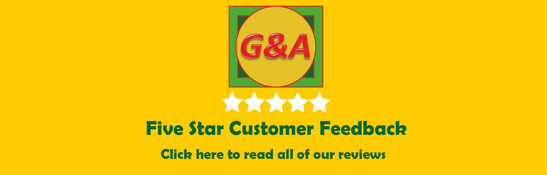 Reviews - Customer feedback